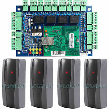 Ethernet TCP IP Network Access Control Board Panel Controller W/ RFID Readers