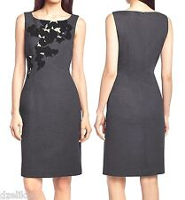 NWT Hugo Boss Black Label By Hugo Boss Wool Dress with Floral Pattern Size 10