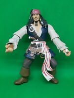 "Pirates of the Caribbean Captain Jack Sparrow 7"" Action Figure Zizzle Disney"