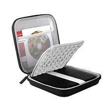 Lacdo USB CD DVD Writer Blu-Ray External Hard Drive Protective Storage Case Bag