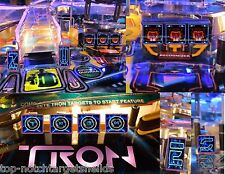 TRON Pinball Machine High Quality Cushioned 3M Target Protectors