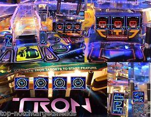 TRON Pinball Machine High Quality Cushioned 3M Target Protectors