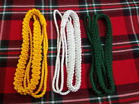 TC British Army lanyard Various Colors/WWI WWII Army Lanyard,Red,Green,Yellow