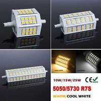 78/118mm R7S J118/J78 LED 10W/15W Bulb Lampe Light  24/36/48 SMD Dimmable ou Non