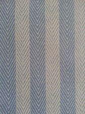 Vintage Wallpaper Herringbon Stripes Blue by Motif