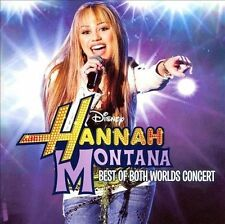 The Best of Both Worlds Concert (CD + DVD) Hannah Montana, Miley Cyrus Audio CD