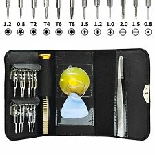 16 IN 1 CACCIAVITE PRECISIONE WALLET Repair Tool Kit MacBook Air, MacBook Pro