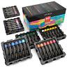 ARTEZA Acrylic Paint, Set of 60 Colors/Tubes 22 ml, 0.74 oz. Art Supplies Paint
