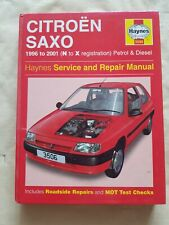 Citroen Saxo Haynes Manual 1996-04 1.0 1.1 1.4 1.6 Petrol 1.5 Diesel Workshop