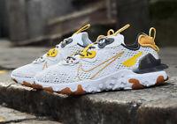 Nike React Vision Honeycomb White Grey Shoe Trainer Sneaker UK Size 6-12