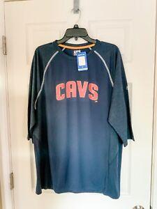NWT Majestic NBA Cleveland Cavaliers Dri Fit Like Shirt - XL