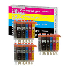 18 Ink Cartridges for Canon Pixma IP8750 MG6350 MG7150 MG7550 (Include Grey ) T