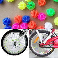 36 x Multi Coloured Bike Wheel Spoke Beads Decors Spokey Dokey Fits All Cycles