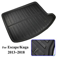Fit For Ford Escape Kuga 2013- Boot Mat Rear Trunk Liner Cargo Floor Tray Carpet