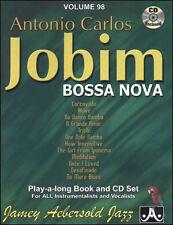 AEBERSOLD 098 ANTONIO CARLOS JOBIM LIBRO/CD