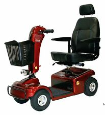 RED Shoprider Sunrunner 4 Wheel Mobility Scooter, 300 lb. Weight Capacity