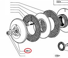 596513 SPINGIDISCO ANTERIORE FRIZIONE CENTRALE TRATTORE FIAT 455C 505C 605C