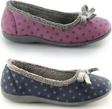 Sleepers LOUISE Ladies Womens Fleece Warm Lined Full Slippers Various Colours