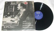 R.KIPLING - Poetry read by M.Bates, R. Johnson, P.Wymarck - LP NM- 1971