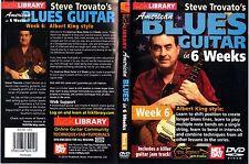 Lick Library American Blues Guitar In 6 Weeks - Week 6 (DVD)
