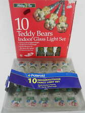 20 Bear Christmas Lights 2 Boxes 2 Colors Golden Frosty Clear