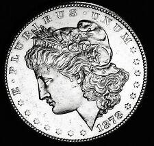 1878-s Morgan Silver Dollar.  Proof Like.    BU    (INV.A)