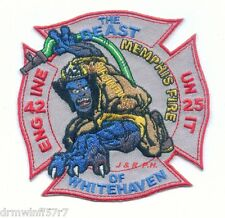 "Memphis  Engine-42 / U-25  ""Beast of Whitehaven"", TN (4"" x 4"" size) fire patch"