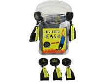 Retractable Cigarette Lighter Leash Bic Holder Set Of 3