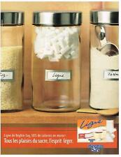 PUBLICITE ADVERTISING  2002   BEGHIN SAY  sucre blanc