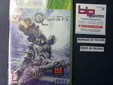 VANQUISH XBOX 360 PAL ITA NUOVO SIGILLATO