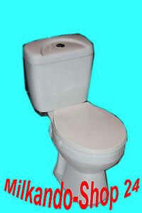 Wc Toilette Stand komplett set mit Spülkasten Komplett Aus Keramik  !!!!