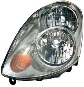 Headlight Assembly Left Dorman 1592015 fits 03-04 Infiniti G35