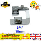 """Wide ROLLED HEM 3/4"""" Hemmer Foot For Domestic Sewing Machines Snap on Presser"""