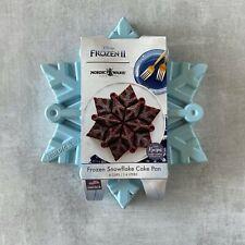 Nordic Ware Frozen Snowflake Pull Apart Cake Pan Blue