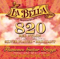 La Bella 820 Flamenco / Red Nylon Flamenco Saiten Set