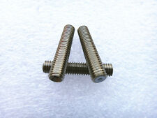 5PCS M6x30mm Nozzle Throat Stainless Steel Tube For 3D Printer Extruder 1.75mm