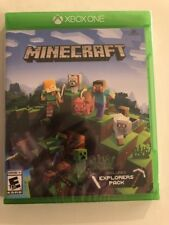Minecraft: Xbox One Edition - Includes Explorers Pack (Xbox One) Sealed 2017!!