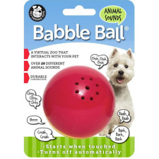 Animal Sounds Babble Balls® Dog Toy (Medium)