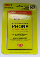 Straight Talk Nano Sim Card for At&T Tower Gsm Network Activati