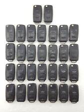 30 x Vw, Seat & Skoda 3 Button Flip Key Fobs Job Lot - Tested