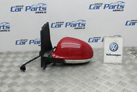 VW GOLF PLUS MK5 04-09 PASSENGER SIDE WING MIRROR IN RED LY3D 5 MONTH WARRANTY