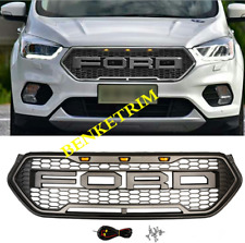 NEW FOR 2017 2018 2019 Ford Kuga Escape ABS black Front Bumper Upper Grille