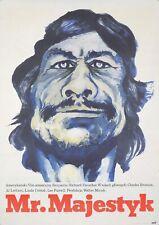 Original Vintage Póster Pulir Película Mr. Majestyk Charles Bronson Vietnam 1974
