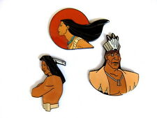 Comic pin/Pins - © Disney/Pocahontas - 3 pins!!! [4024e]