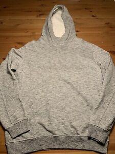 Original Stone Island Hoodie Sweater Kapuze Grau Meliert Gr. XL Top Zustand