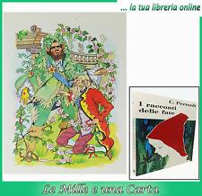 libro bambini illustrato Perrault I RACCONTI DELLE FATE fiabe amz Ruffinelli '71