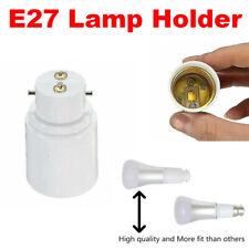 12 x B22 to E40 Lamp Light Bulb Socket Base Converter Small Bayonet Adapter UK