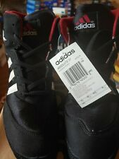 Adidas Absolute Wrestling Shoes, Size 9,Black and White, Rare