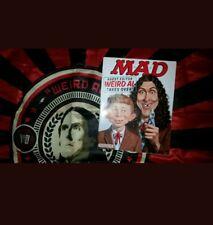 Weird Al Yankovic VIP EXCLUSIVE FLAG & Mad Magazine 2015 Mandatory World Tour