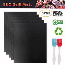 5Pcs Mats Easy Bbq Grill Mat Bake NonStick Grilling Mats As Seen On Tv New